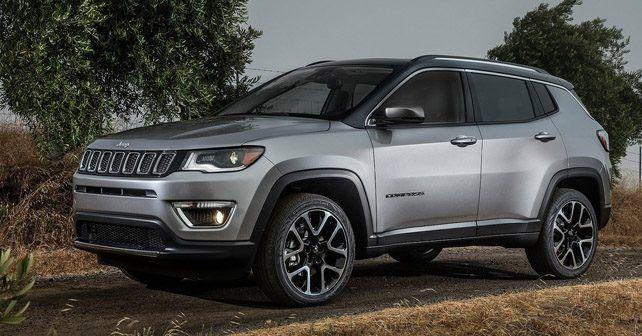 2017 Jeep Compass esterno