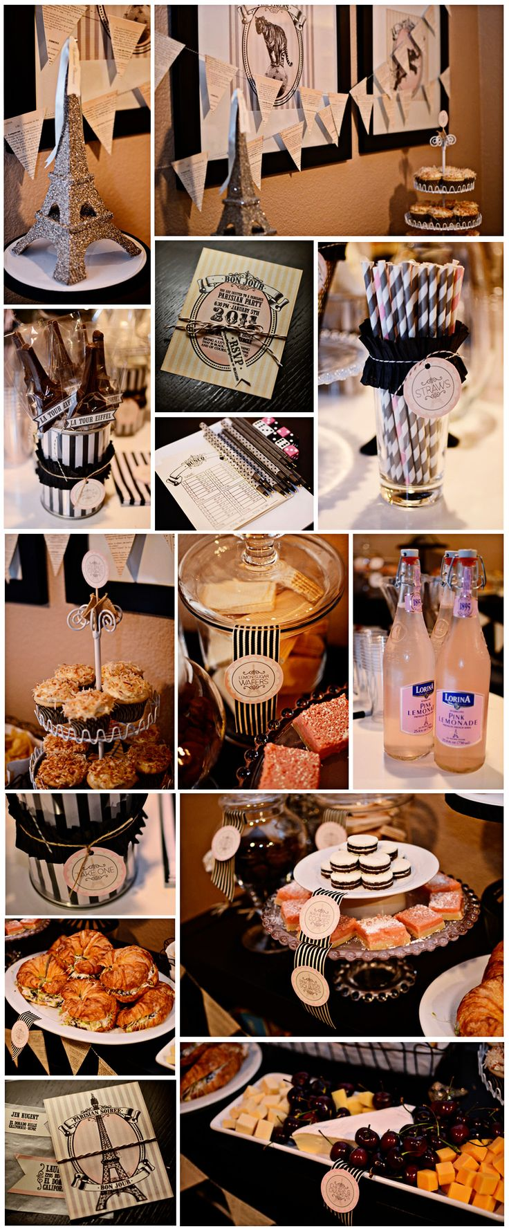 Paris themed birthday party ideas - Paris Themed Party Edith I May Throw Us One Of These When I Start