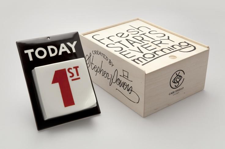 Steve Powers x Case Studyo Porcelain Calendar