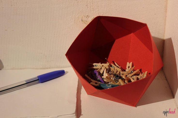 DIY: Cuencos de origami