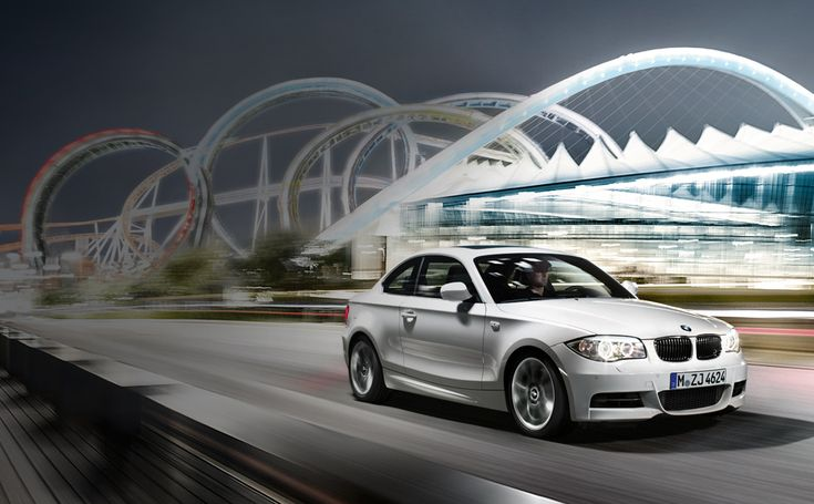 The BMW 1 Series. The smallest BMW has a powerful punch! www.BMWDavid.com