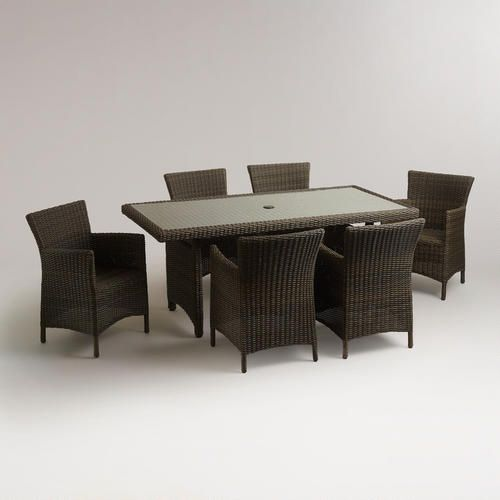 One of my favorite discoveries at WorldMarket.com: Solano Outdoor Dining Collection