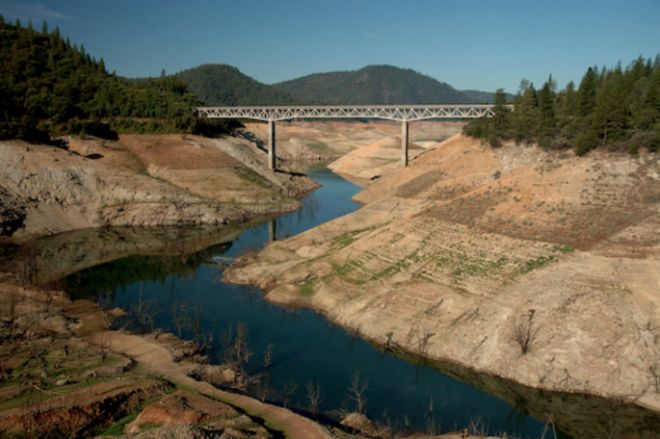 Water Levels Shoot up 20 Feet in 10 Days at Lake Oroville, California - WeatherNation