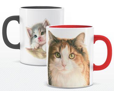 Bestel deze leuke mokken met katten van Franciens Katten via www.greetz.nl