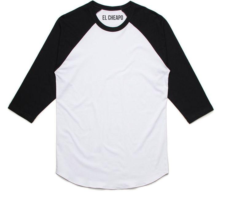 3/4-Sleeve Raglan Baseball T-Shirt