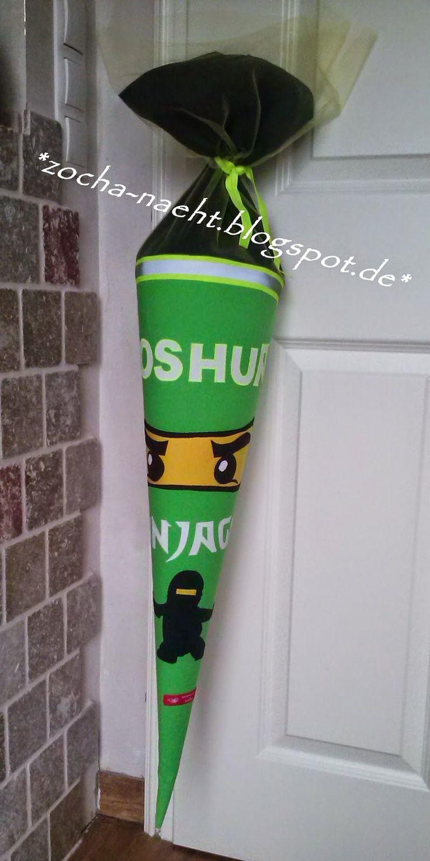 zocha näht: Lego Ninjago Schultüte