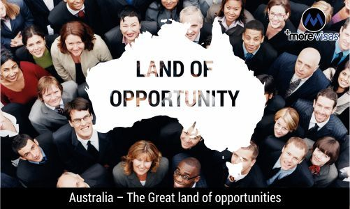 #Australia -The Great Land of #Opportunities. Read more... #morevisas  https://www.morevisas.com/australia-immigration/australia-the-great-land-of-opportunities/