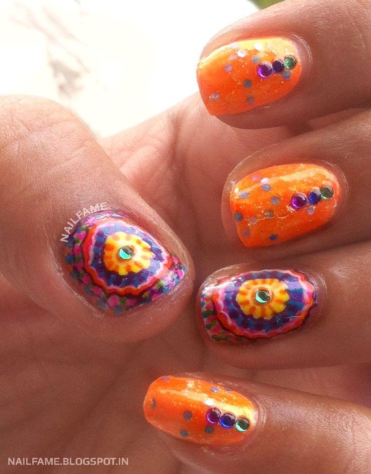 Mejores 1017 imágenes de Nail art en Pinterest | Diseños de uñas ...