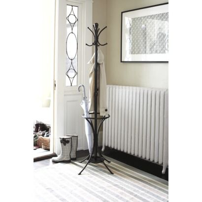 Threshold Metal Coat Rack With Umbrella Stand Mudroom
