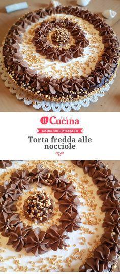 #Torta fredda alle #nocciole della nostra utente Grazia. Unisciti alla nostra Community ed invia le tue ricette!