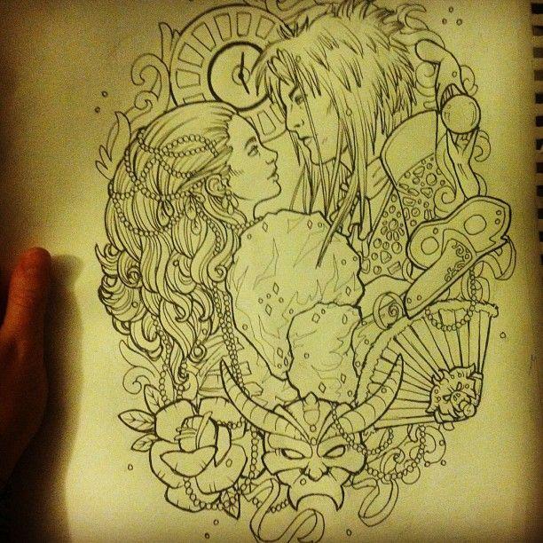 17 Best ideas about Labyrinth Tattoo on Pinterest ... Labyrinth Owl Tattoo