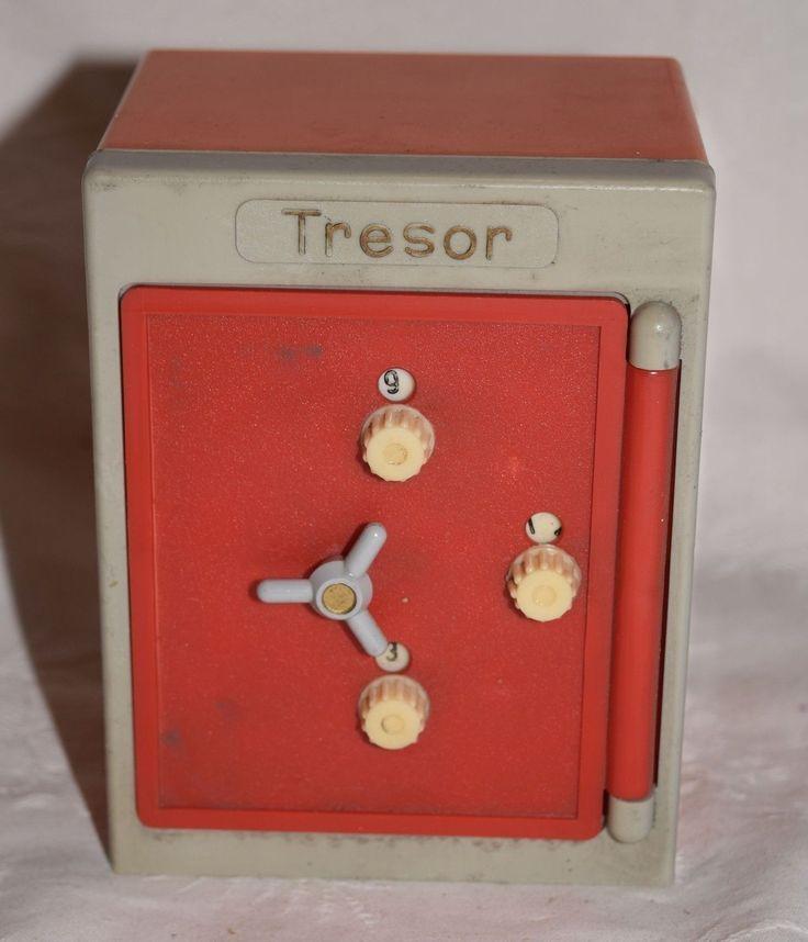 AAN 191/ KINDER Spielzeug TRESOR SAFE DDR alt !! | eBay