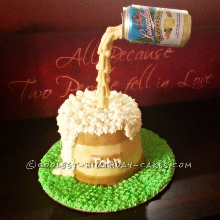 How To Make A Anti Gravity Beer Cake