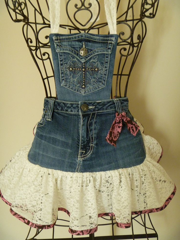 Remember, Redneck Girl Aprons, L.L.C., is the original.  Finest quality, expert workmanship, and we stand behind our name.  This little denim apron was just created for Easter.  One-of-a-kind! To order visit   www.redneckgirlaprons.com