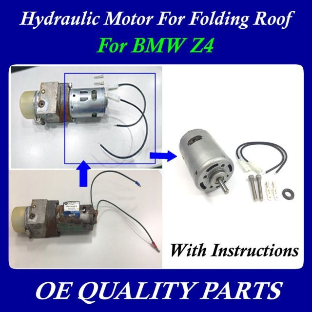 Upgrade Roof Hydraulic Motor For Convertible Top For Bmw