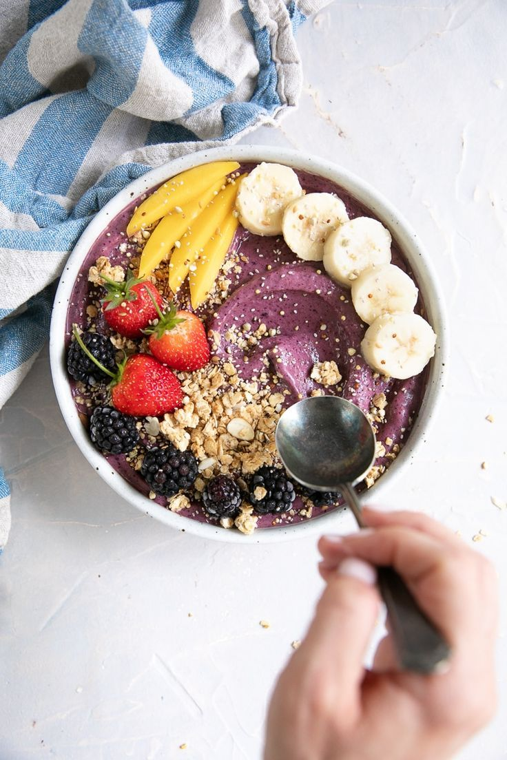 acai bowl recipe how to make your own acai bowl the forked spoon recipe healthy bowls recipes acai bowls recipe acai bowl recipes healthy pinterest