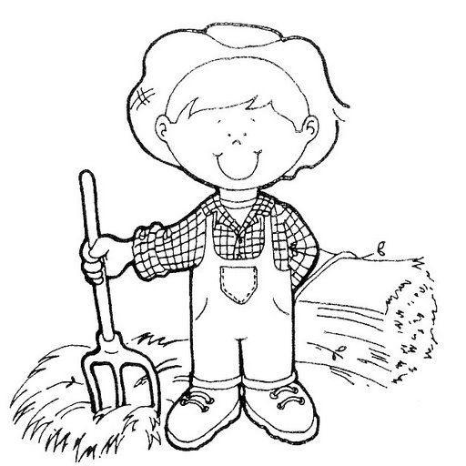 Dibujos para colorear de oficios para niños                                                                                                                                                     Más