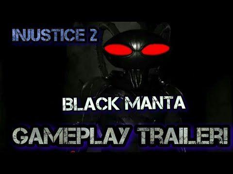 [Injustice 2] Black Manta Gameplay Trailer!