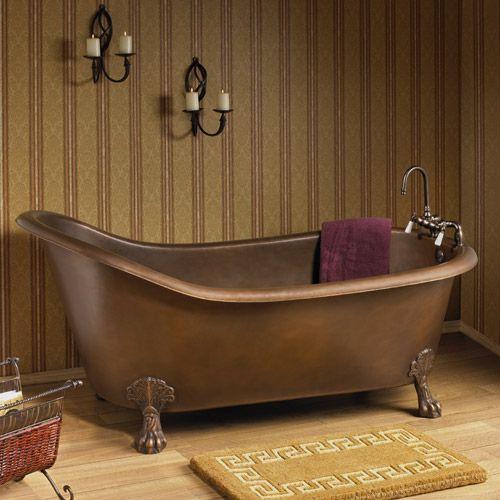 copper clawfoot tub - Claw Foot Tubs