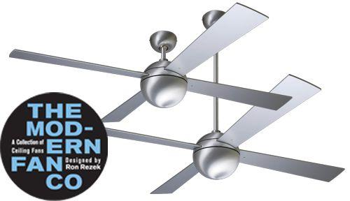 MODERN FAN plafond ventilator TYPE BALL