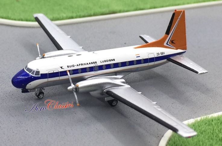 South African Airways HS-748  Reg# ZS-SBV  Aeroclassics Scale 1:400