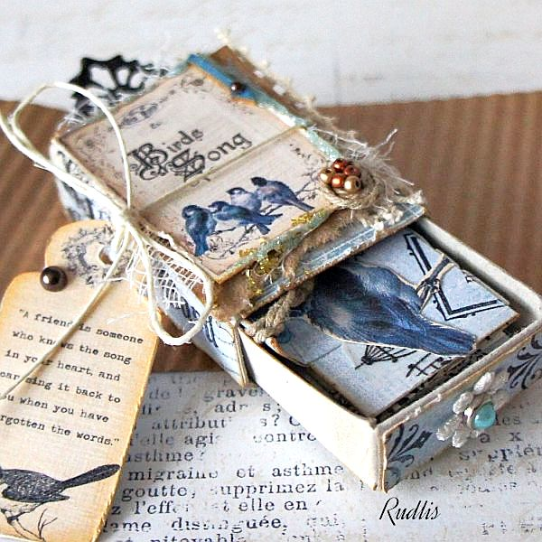 love, life and crafts Rudlis: Matchbox