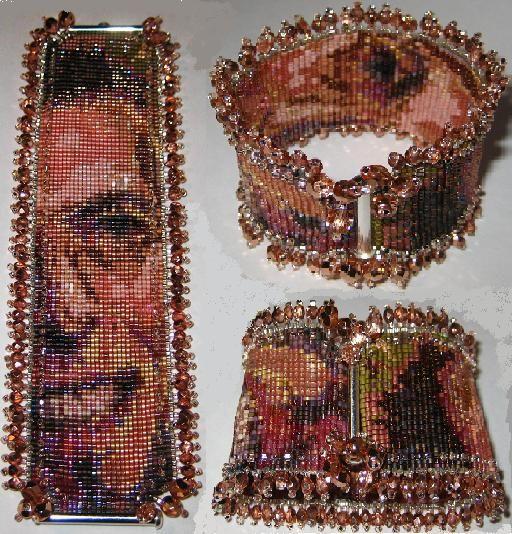 Beads, Beading, Beaded.  Check her work!