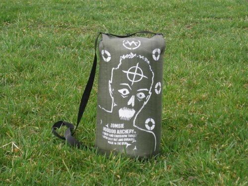 Zombie Crossbow Target from Voodoo Archery.  Great for crossbows as a discharge target or for practicing.