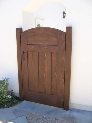 wood fence and gate ideas | Wooden Gates We make all sizes and any design - You name it and we ...