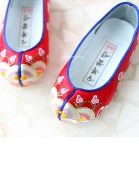 꽃신.버선(HANBOK SHOES.韩服配鞋)
