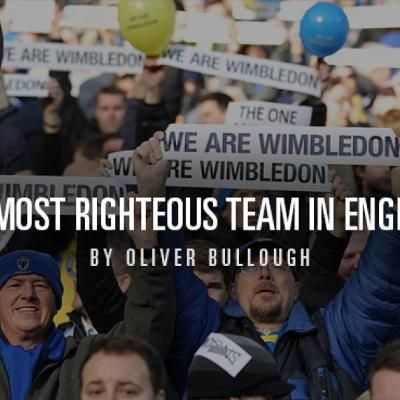 Soccer: AFC Wimbledon: The most righteous team in England  New story from Sports Illustrated in Soccer : AFC Wimbledon: The most righteous team in England // '); }()); //]]>