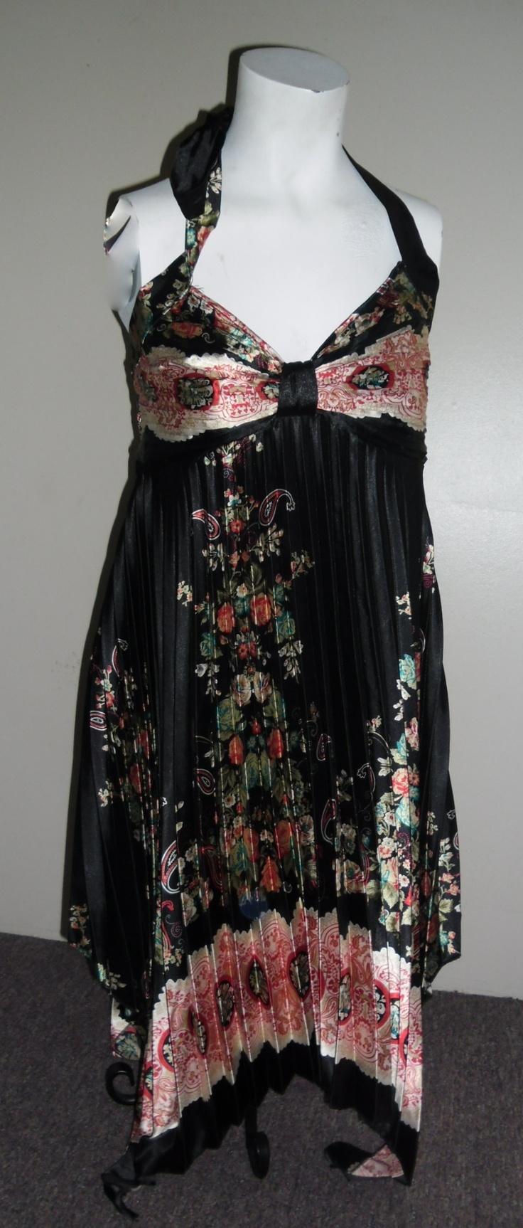 Pleated Halter Dress, Just so Pretty!