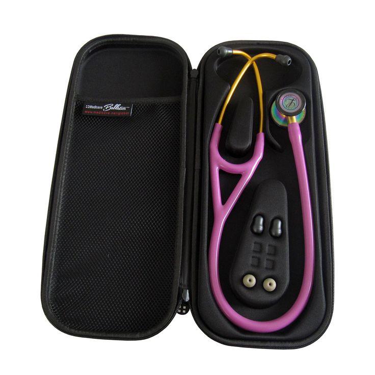Medisave Ballistics Premium Cardiology Stethoscope Case - Purple