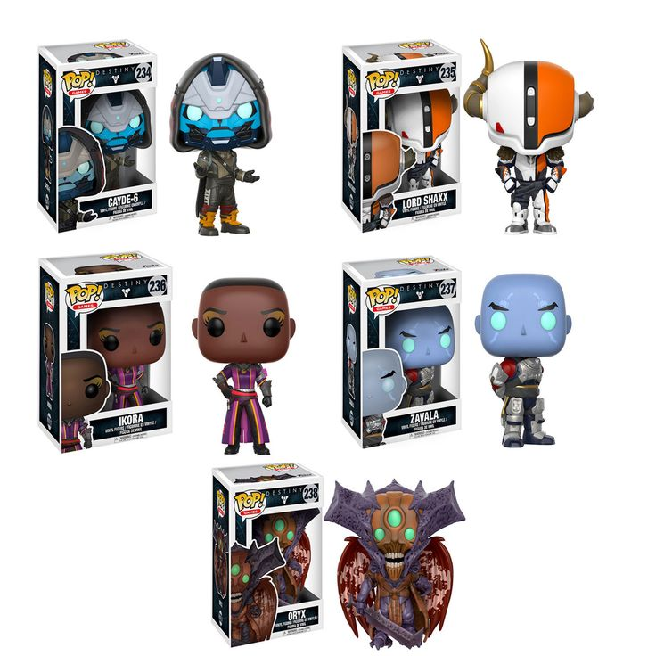 Destiny POP! Vinyl Figure set of 5 - (Pre-order Ships in September)