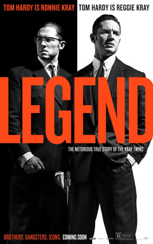 Legend - catch it now at Showcase Cinema