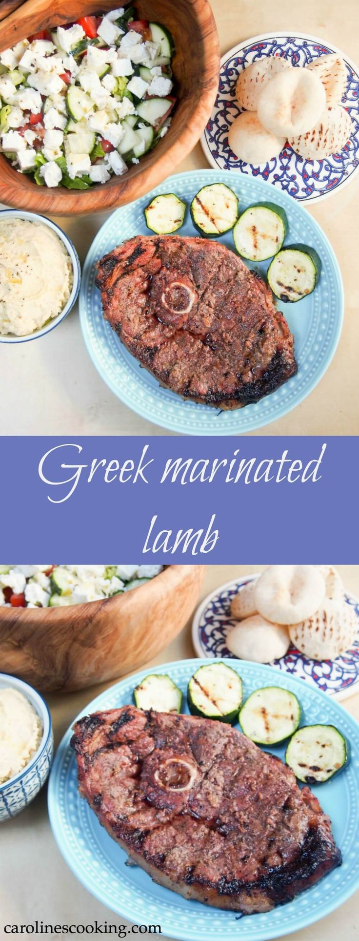 98 best greek food recipes images on pinterest greek recipes greek marinated lamb a really easy marinade gives a delicious flavor to this tasty main greek food recipeslamb forumfinder Choice Image
