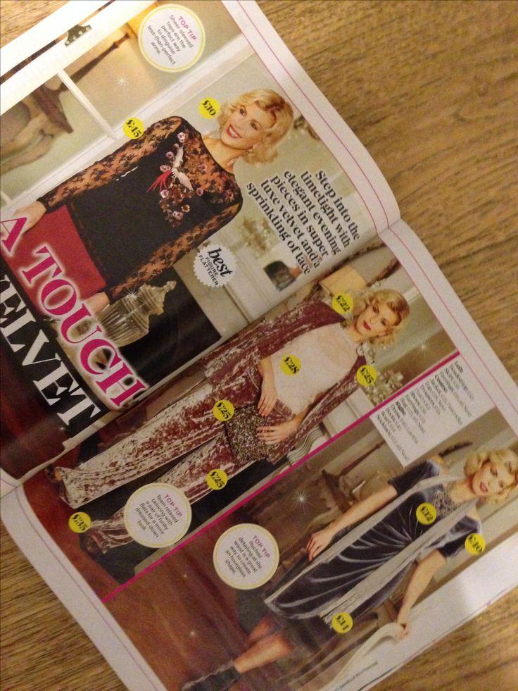 Velvet and lace best magazine