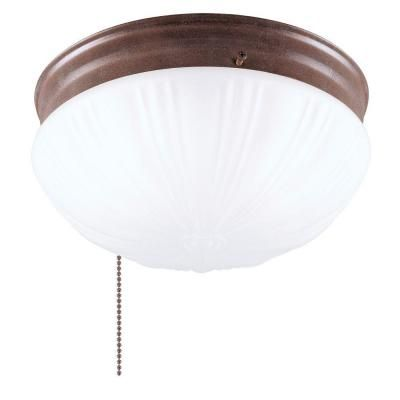 light ceiling fixture sienna interior flush mount with pull chain. Black Bedroom Furniture Sets. Home Design Ideas