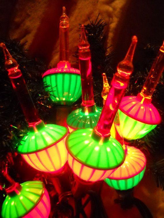 Bubble Christmas lights