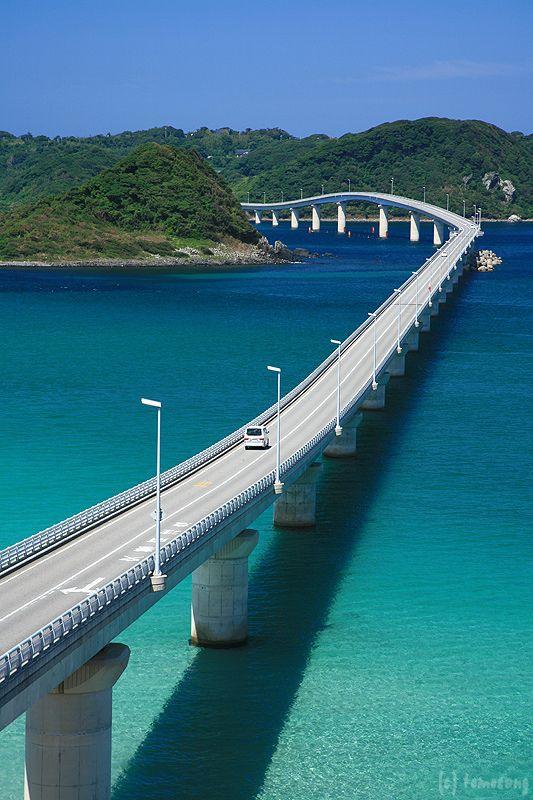 Tsunoshima Bridge | by tomosang R32m