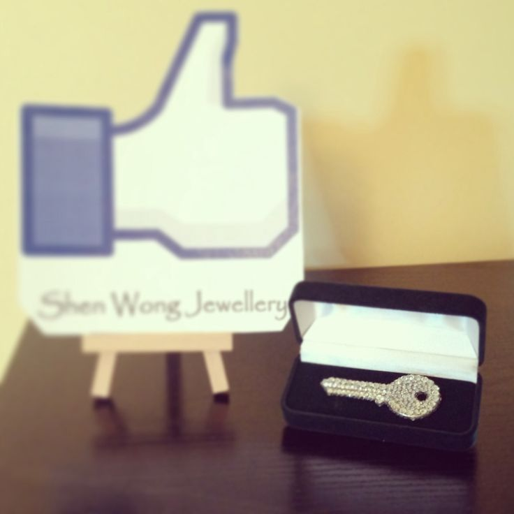 My 'Key To The City' award. It was a bit plain, so I bedazzled it :)