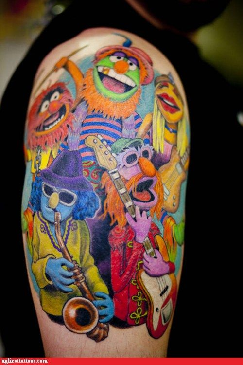 Dr. Teeth and The Electric Mayhem WIN, I could see my husband getting this!
