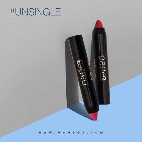 Fat lip crayons are so much fun! The February MSM Express Box contains one of 3 shades of this handy colour stick from indie brand Page 3. #lipstick #favorite #girls #musthaves  Shop: https://msmbox.com