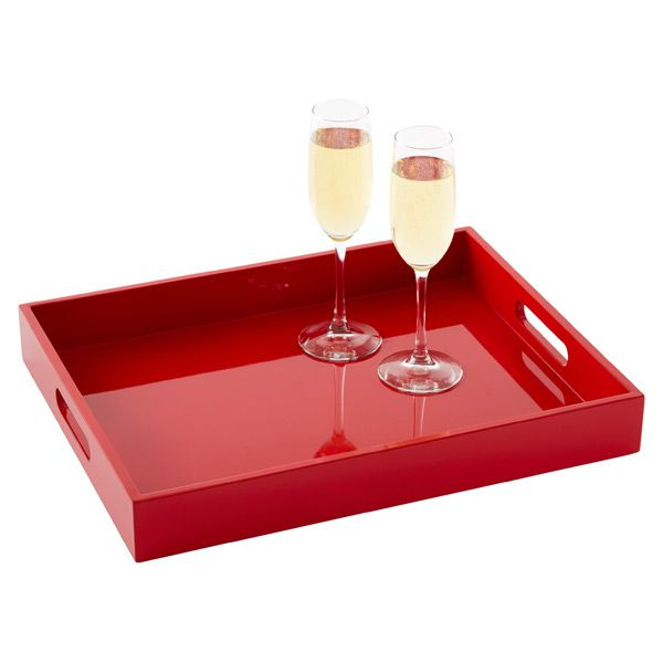 Lacquered Serving Tray | $24.99