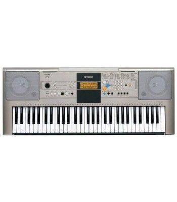 The YPT-320 is a touch sensitive instrument that features 482 dynamic, authentic voices, with 361 XGlite voices, 12 drum kits and a sound effect kit. The YPT-320 also has 106 accompaniment styles and 102 built-in songs. Music database with 100 songs-for instantly setting entire instrument to match a desired music genre. Special two-track Easy Recording feature lets you record and save up to five of your original songs-great for composing and practice purposes. You can practice the preset…