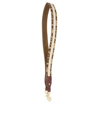 Peppen Sie Ihren Stil auf mit unserem Savannah Taschenriemen mit Leoparden-Print. Das wilde Accessoire besitzt einen Karabinerverschluss an jedem Ende und lä...
