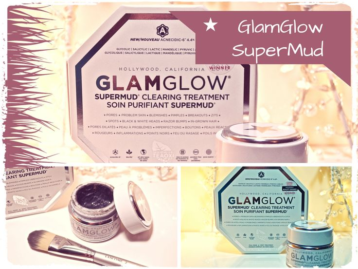 GlamGlow SuperMud Clearing Treatment Mask http://blatherandbeauty.ie/glamglow-supermud-clearing-mask/