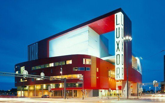 The New Luxor Theater is Rotterdams main theater. Experts agree that the buildings architecture, location and appeal make it one of Hollands most beautiful theaters. #Rotterdam #visitholland