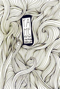 flor cornara / trabajos para el flaco II,tinta sobre papel / abril 2015 #spinetta #quote #illsutration