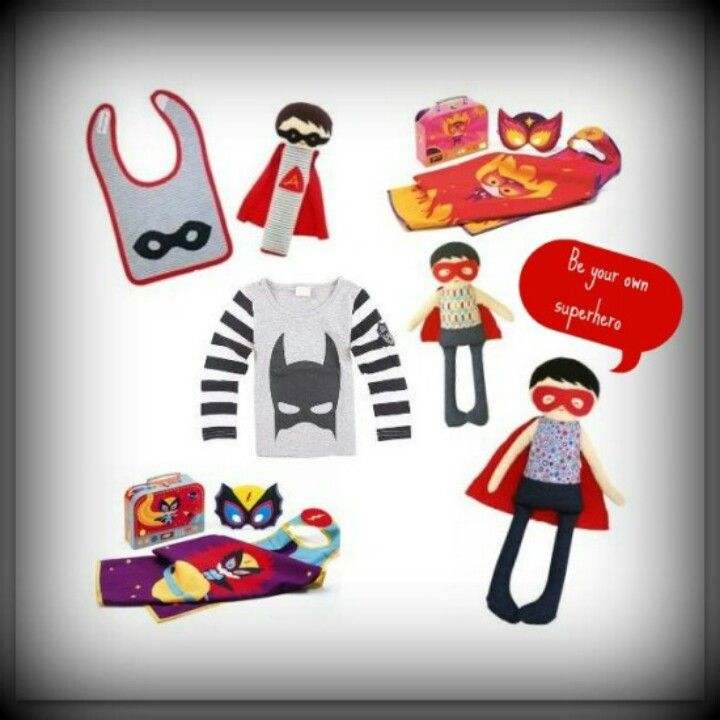 Cool#Superhero# collection at www.ittybittybox.com.au